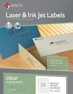 Matte Clear Laser Label