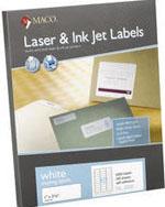Weather Resistant Laser Ink Jet Labels