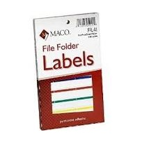 File Folder Labels - Sheets