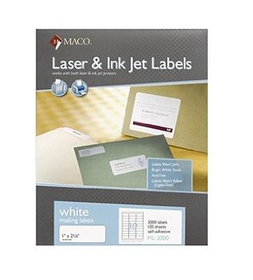 Laser/ Inkjet Labels
