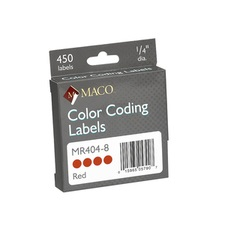 Permanent Color Coding Labels