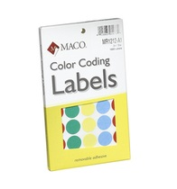 Colored Removable Labels
