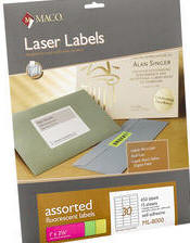 Fluorescent Laser Labels