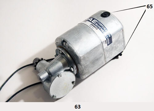 Motor Assembly (Ref ND105X) - Motor Assembly and Related Parts