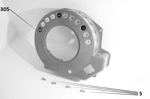 Key Drum (Ref E547D) - Better Pack 555 S Covers
