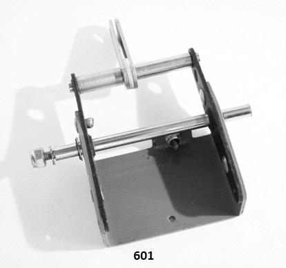 Yoke Assembly - Cutter Yoke/Solenoid/Lower Feed Wheel