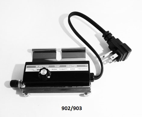 Top Heaters - Top Heater and Related Parts