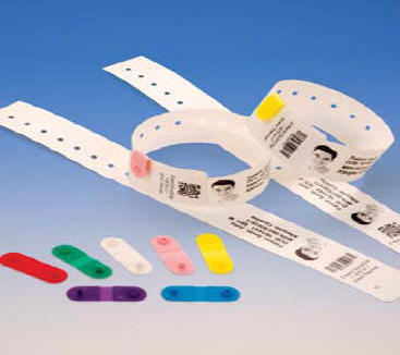 Zebra Jewelry / Wristband Labels and Cleaning Supplies