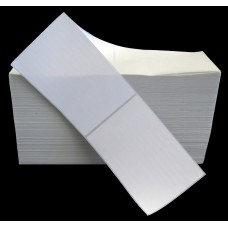 CompuLabel Direct Thermal Labels Fan Fold White